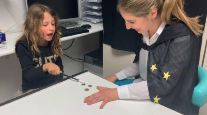 La màgia arriba a l'Hospital Odontològic Universitat de Barcelona